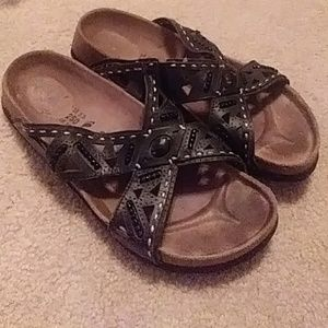 Black Birkenstocks size 39
